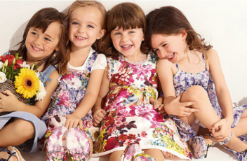 Трикотажные детские платья